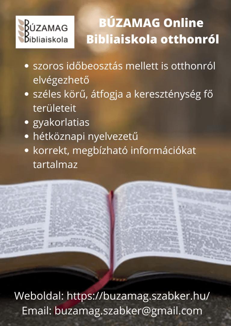 Búzamag Online Bibliaiskola
