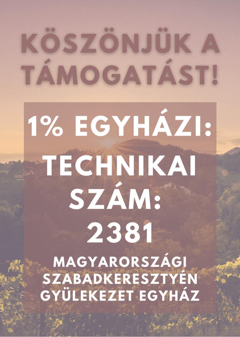 1% TECHNIKAI SZÁM - 2021 - ÁLLÓ KÉP